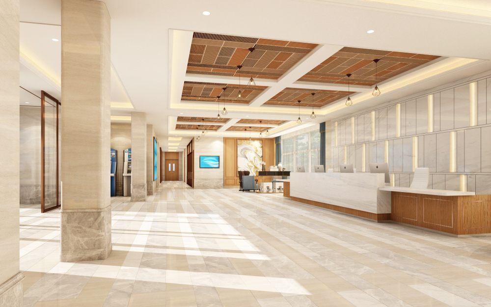 养老院 整套精美 现代美式的方案效果图_一层大厅1111.jpg