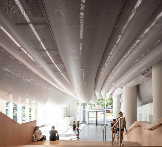 香港大学李嘉诚医学院大堂 / Atelier Nuno Architects-5.jpg