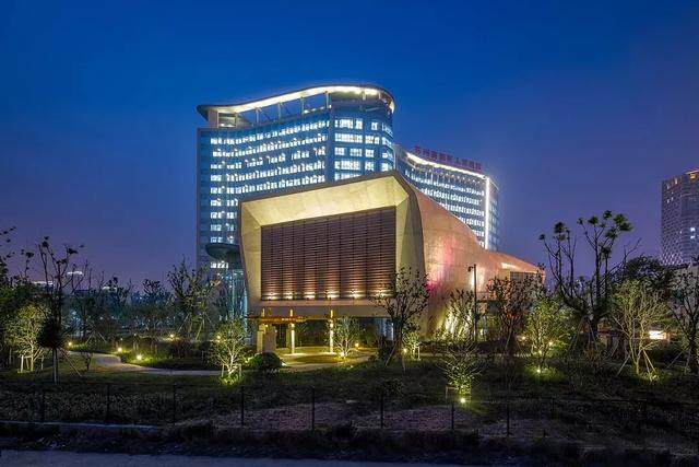 """苏州高新区人民医院二期設計解析,建築取意""""水与鲤鱼""""-16.jpg"""