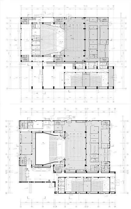 榆林市文化新地标——榆林东沙文体馆設計解析-15.jpg