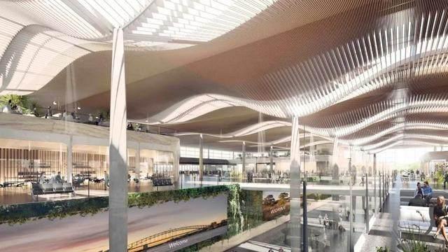 扎哈·哈迪德建築事务所赢得西悉尼机场設計权-1.jpg
