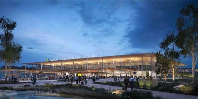 扎哈·哈迪德建築事务所赢得西悉尼机场設計权-5.jpg