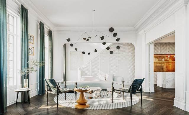 超现代的新古典主义场景空间软装设计-1.jpg