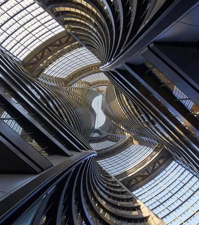 拥有世界最高中庭的丽泽SOHO开放了,大桥谕这样形容她的美…-4.jpg