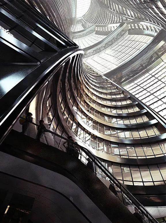 拥有世界最高中庭的丽泽SOHO开放了,大桥谕这样形容她的美…-11.jpg