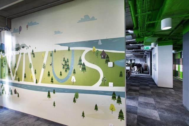 图形空间 波兰金融科技Vivus华沙总部办公設計欣赏-9.jpg