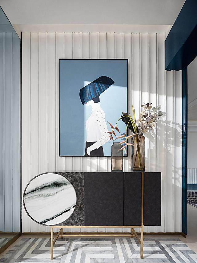 150㎡都市轻奢,精致、時尚、摩登范 | 纳沃設計-4.jpg