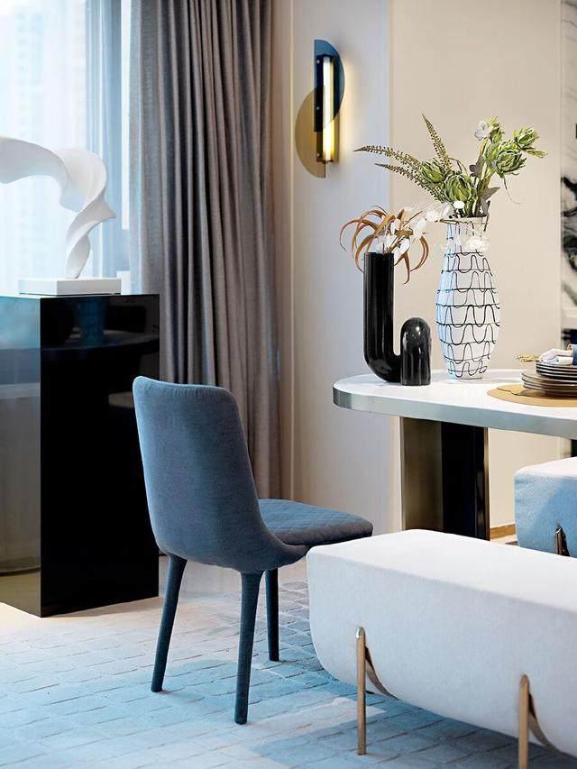 150㎡都市轻奢,精致、時尚、摩登范 | 纳沃設計-9.jpg