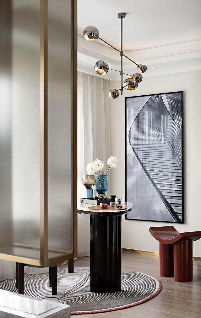 150㎡都市轻奢,精致、時尚、摩登范 | 纳沃設計-14.jpg