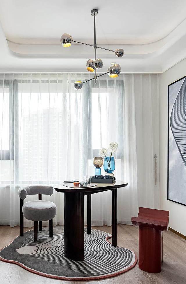 150㎡都市轻奢,精致、時尚、摩登范 | 纳沃設計-15.jpg