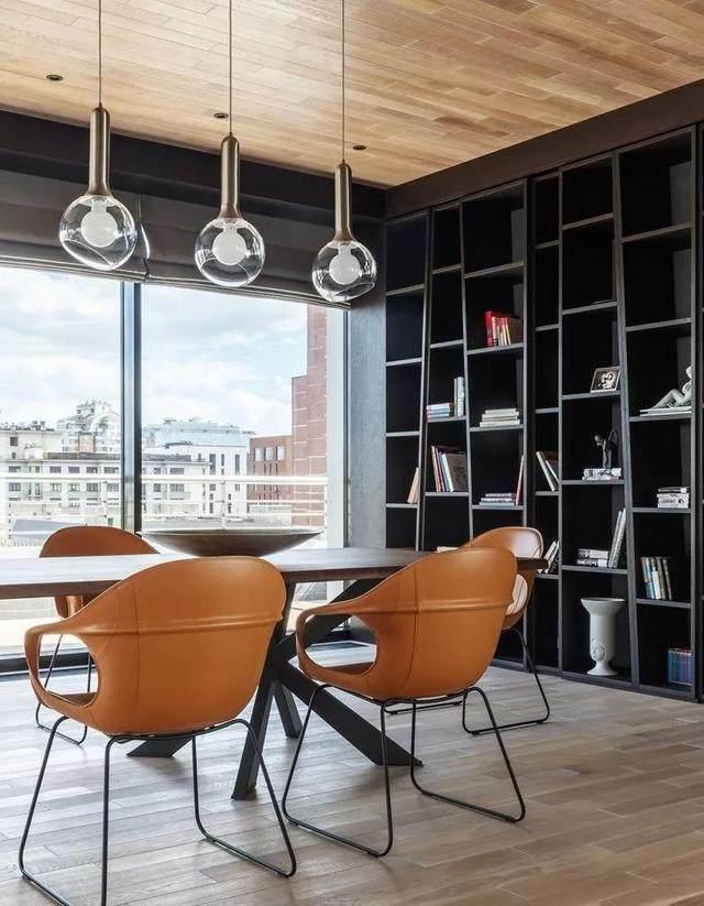 带露台的顶层公寓,这样設計才够時尚 | Timur Sharipov-8.jpg