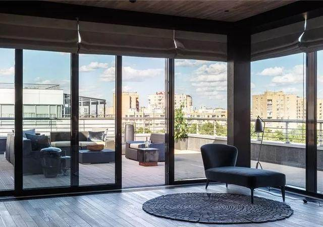 带露台的顶层公寓,这样設計才够時尚 | Timur Sharipov-11.jpg