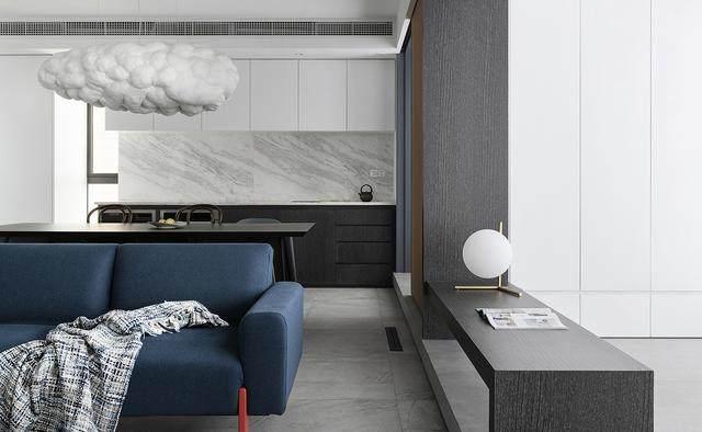 240㎡现代简约风舒适住宅空间 | 成都璞珥空间設計-9.jpg