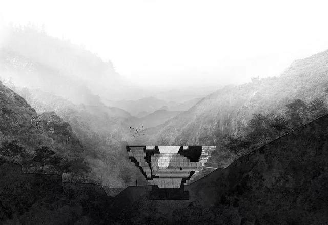 """""""山谷音乐厅""""封顶,建築犹如一块巨石-15.jpg"""