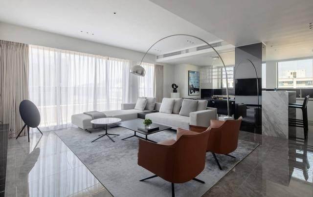 123m2现代简约风住宅空间 | 极右設計-5.jpg