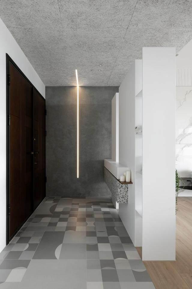 现代简约多彩住宅空间,蕴景于端   拾隅空间設計-1.jpg