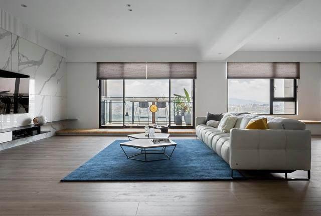 现代简约多彩住宅空间,蕴景于端   拾隅空间設計-3.jpg