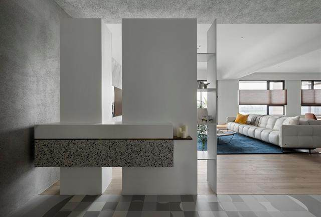 现代简约多彩住宅空间,蕴景于端   拾隅空间設計-2.jpg