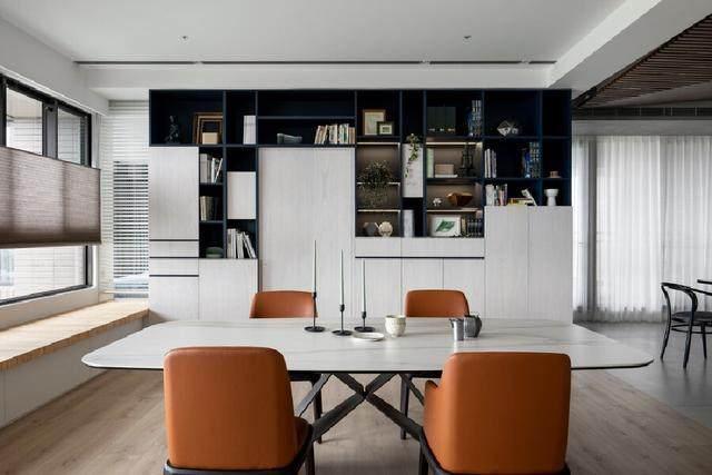 现代简约多彩住宅空间,蕴景于端   拾隅空间設計-6.jpg