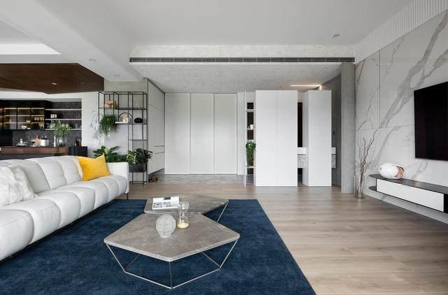 现代简约多彩住宅空间,蕴景于端   拾隅空间設計-4.jpg