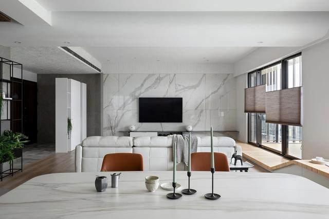现代简约多彩住宅空间,蕴景于端   拾隅空间設計-7.jpg