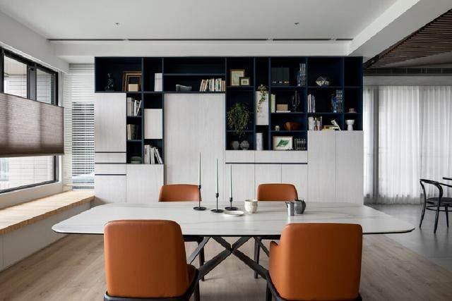 现代简约多彩住宅空间,蕴景于端   拾隅空间設計-9.jpg