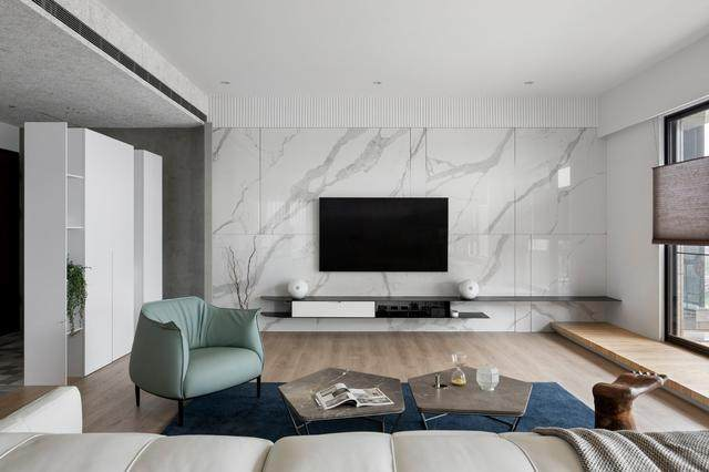 现代简约多彩住宅空间,蕴景于端   拾隅空间設計-8.jpg