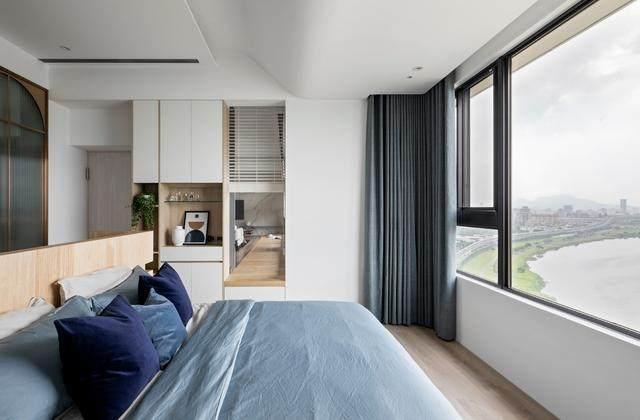 现代简约多彩住宅空间,蕴景于端   拾隅空间設計-17.jpg