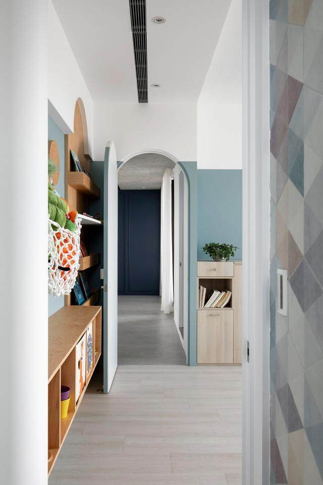 现代简约多彩住宅空间,蕴景于端   拾隅空间設計-21.jpg