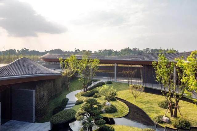 成都花间堂酒店一期設計,建築演绎山水意境-16.jpg