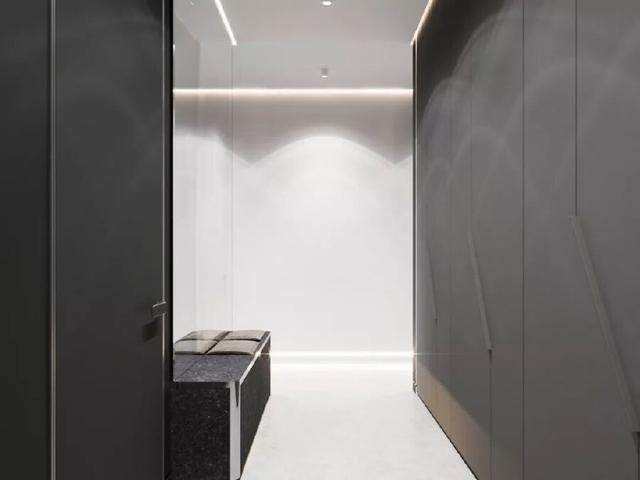 144㎡暗色调轻奢時尚私人住宅空间,品味细腻!  Arch Ants Studio-1.jpg