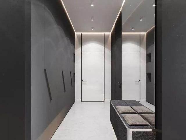 144㎡暗色调轻奢時尚私人住宅空间,品味细腻!  Arch Ants Studio-3.jpg