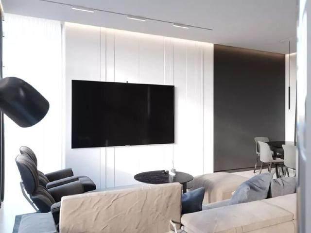 144㎡暗色调轻奢時尚私人住宅空间,品味细腻!  Arch Ants Studio-8.jpg