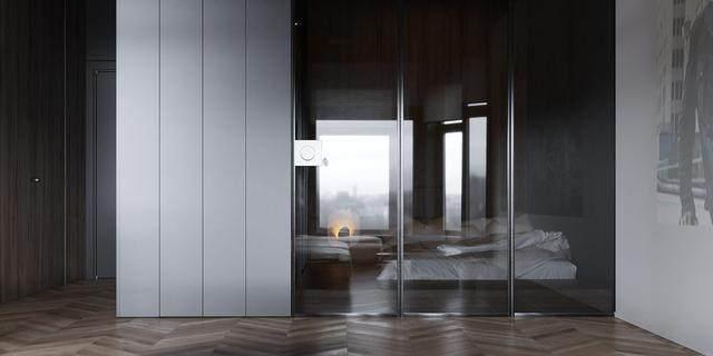 大气奢华的住宅空间設計,以深灰色的现代软装设计为基础-33.jpg