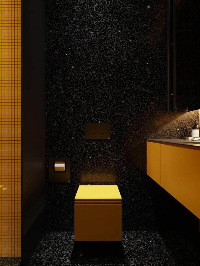 大气奢华的住宅空间設計,以深灰色的现代软装设计为基础-38.jpg