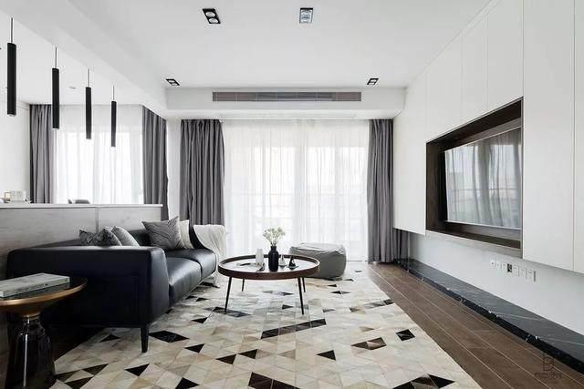 黑色+质朴灰,在住宅空间打造聚会空间   标点設計-2.jpg