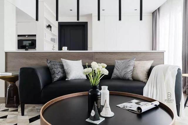 黑色+质朴灰,在住宅空间打造聚会空间   标点設計-5.jpg