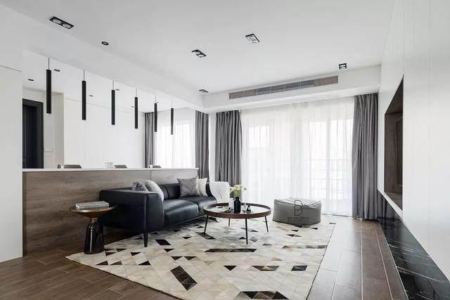 黑色+质朴灰,在住宅空间打造聚会空间   标点設計-3.jpg