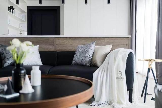 黑色+质朴灰,在住宅空间打造聚会空间   标点設計-6.jpg