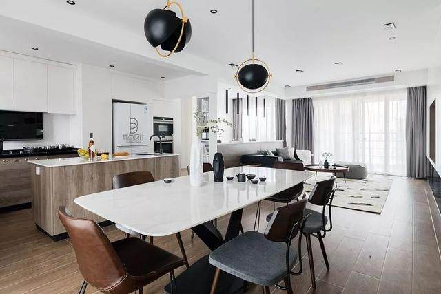 黑色+质朴灰,在住宅空间打造聚会空间   标点設計-12.jpg