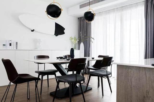 黑色+质朴灰,在住宅空间打造聚会空间   标点設計-11.jpg