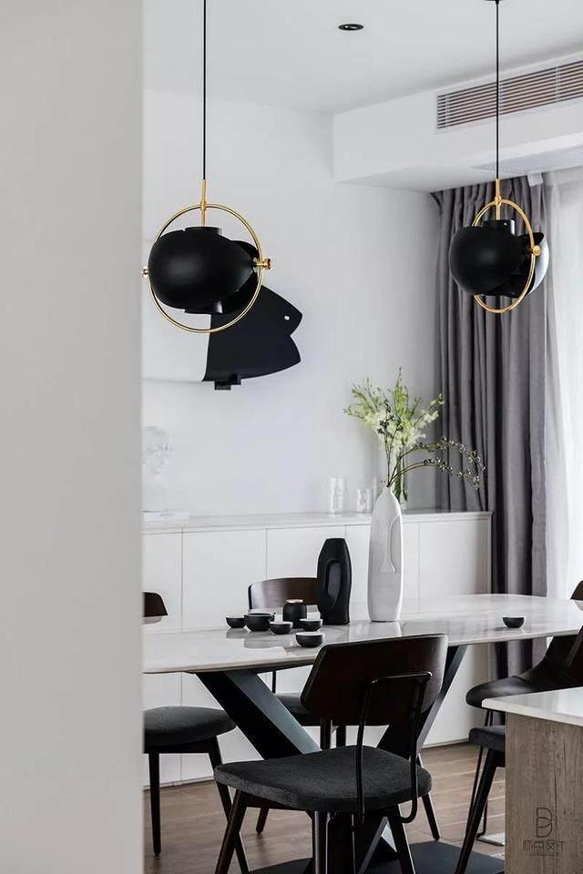 黑色+质朴灰,在住宅空间打造聚会空间   标点設計-14.jpg