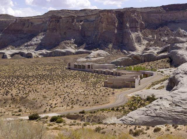 安缦奇岭,峡谷沙漠之中尽展荒凉的奢华 | Wendell Burnette-4.jpg