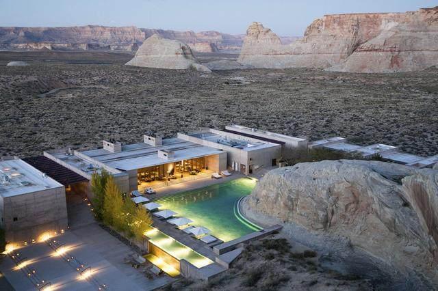 安缦奇岭,峡谷沙漠之中尽展荒凉的奢华 | Wendell Burnette-6.jpg