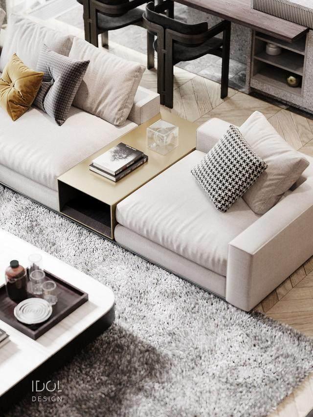 大理石成豪华住宅标配,149平的公寓也能散发奢华与品味-4.jpg