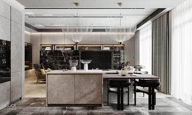 大理石成豪华住宅标配,149平的公寓也能散发奢华与品味-8.jpg