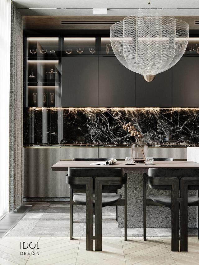 大理石成豪华住宅标配,149平的公寓也能散发奢华与品味-9.jpg