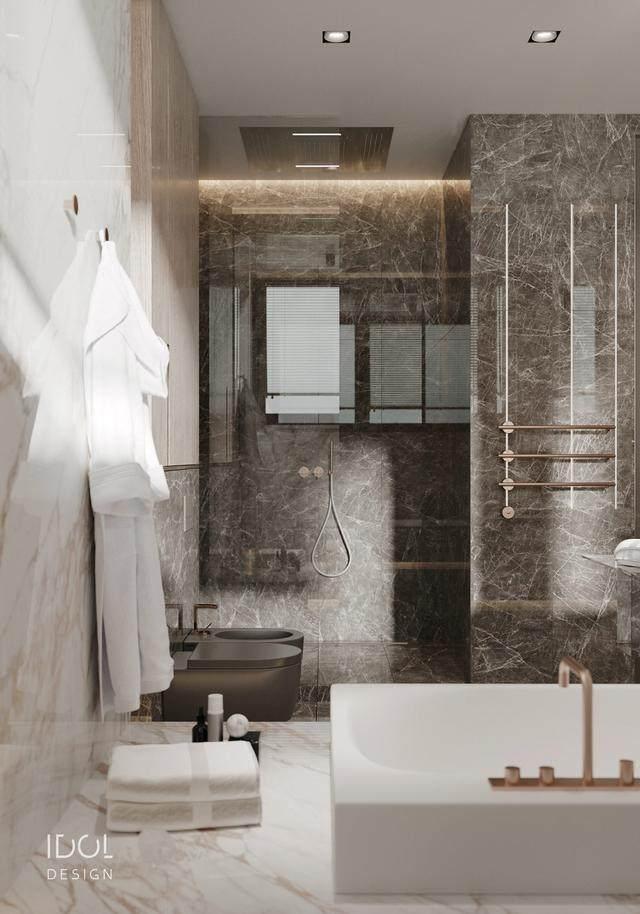 大理石成豪华住宅标配,149平的公寓也能散发奢华与品味-22.jpg