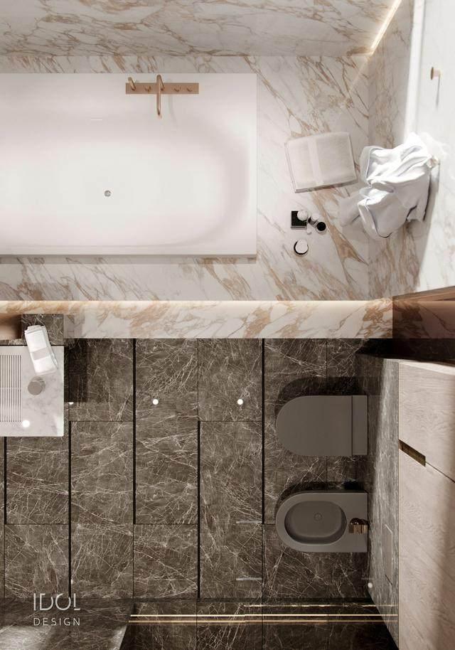 大理石成豪华住宅标配,149平的公寓也能散发奢华与品味-24.jpg