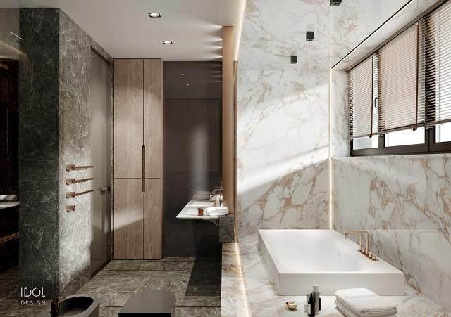 大理石成豪华住宅标配,149平的公寓也能散发奢华与品味-23.jpg